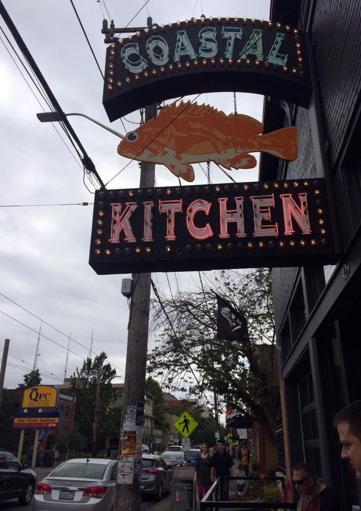 Coastal Kitchen - Sign